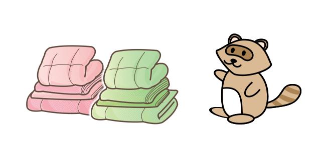 サマリーポケットが布団の保管に適している理由