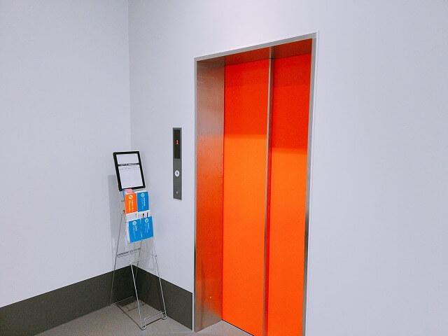 エレベーター完備で荷物が運びやすい